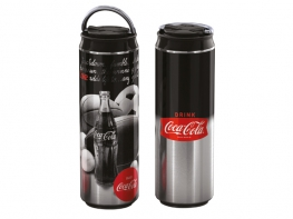 BORRACCIA CAN COCA COLA SILVER SPORT ALU 750ML