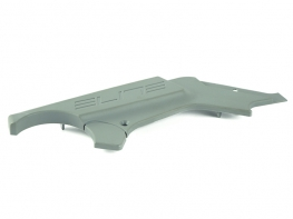 RIGHT SIDE EXTRUDED GREY PLASTIC COVER
