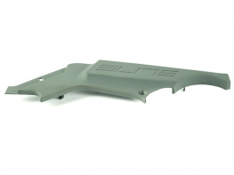 LEFT SIDE EXTRUDED GREY PLASTIC COVER